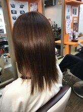 クラブヘアー パッション(CLUB HAIR PASSION)ストレートスタイル