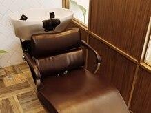 リノヘアー(lino hair)の雰囲気(半個室のシャンプー台でリラックスタイムを)