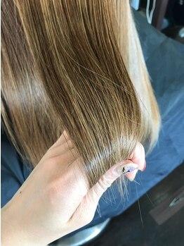 フレール(frere)の写真/湿気にも強く広がらない髪へ!まとまりやすく朝のお手入れも感動するほど楽々に…それが【ハリス ノフ】◇