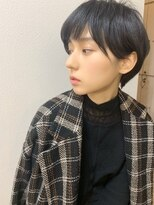 【山田】アフロート 小顔ひし形丸みクールショート