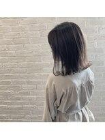 クレーデヘアーズ 相田店(Crede hair's)#切りっぱシアーグレージュ