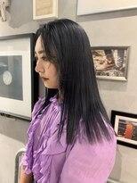 ジーナ(XENA)【MISA】切りっぱなしヘアー