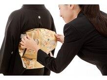 ラ フェリーテ 新横浜 ヘア(Ra felite)の雰囲気(訪問着から留袖、振袖のお着付はお任せください!)