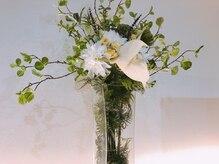 カノカフルール(kanoka fleur)の雰囲気(上質な空間に添える最高級フラワーでリラックス効果◎)