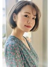 ウノプリール 西梅田ハービスプラザ店(uno pulir)☆春スタイル大人可愛いショートボブ