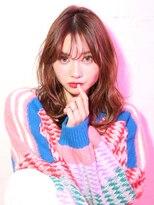 ショコラ アベノ(Chocolat ABENO)#モテ髪パーマ#ラベンダーピンク#デザインカラー#ショコラ阿倍野