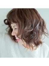 グリーンリーブス ヘアーアンドカラー(green leaves HAIR & COLOR)フルユワパーマ☆