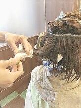髪に優しいシスカールパーマ(*^^)v