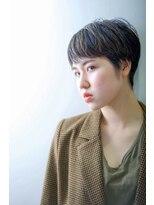 《hair make No.8》マッシュ ハンサムショート・担当中村