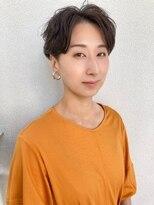 カサネ(casane)【CASANE下北沢】ハンサムショート×パーマ