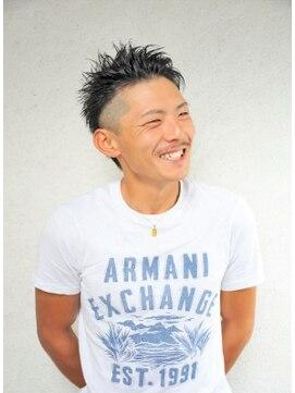 ルーナヘアー(LUNA hair)『京都 ルーナ』 オールバックモヒカン 【草木真一郎】