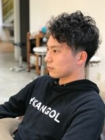 男前強めパーマ      【ARCH】≪片山雄≫