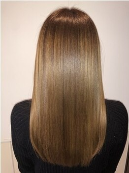 ヘアアンドビューティー クアトロ インターパーク店(QUATRO)の写真/<サイエンスアクア>今までのトリートメントや縮毛矯正とは全く違う、新感覚の髪質改善メニューが登場☆