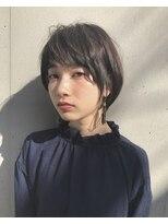 ウル(HOULe)黒髪でも素敵な【大人のレディショート】HOULe 前田賢太