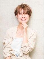 クラシコ ヘアーミュー(CLASSICO hair miu)ハイ透明感カラーのショートスタイル