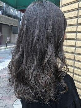ヘアー クリエイション アミー あびこ店(Hair Creation ami)の写真/お得な価格でハイトーンの外国人風カラーが叶う☆SNSで人気のアディクシーカラーも取扱いあり◎