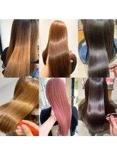 【髪質改善☆ストレート】ブリーチ毛でもできるノンダメージサロンだけのストレート(船山/岩戸)