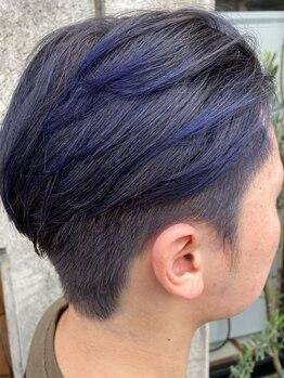 ザボヘアーデザイン(ZABO hair design)の写真/デザインカラーからパーマヘアまで!メンズスタイルなら何でもお任せ