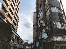 エルザアネックスの雰囲気(京成町屋を降り右手ビルを目印にお越しください。)