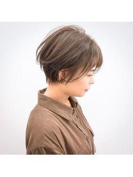 ヘアスペース リズム グリーン(Hair space Rizm green)の写真/一人ひとりの骨格・髪質・雰囲気に合わせたヘアスタイルを提案♪どこから見ても美しいシルエットに…☆