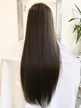 """リライ(salon the rely)の写真/【モチの良さが好評】髪質に合わせて踏む最大15ステップ&薬剤の調合で、感動の""""潤い&ツヤ""""を手に入れて。"""
