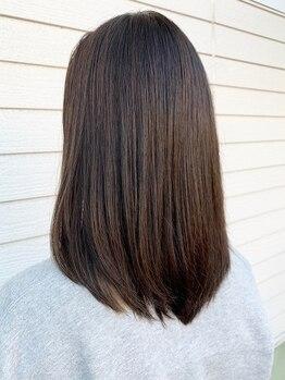 トップヘアー 大元店(TOP HAIR)の写真/1人1人のお悩みに合わせて調合する【Aujua】季節特有のパサつきも解決!憧れの艶感と潤い溢れる美髪が叶う♪