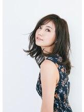 エスアンドエフ美容室 松富店(S&F)【大人かわいい】切りっぱなし風シースルーバング