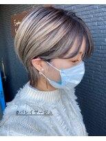 ヘアアンドビューティー クローバー(Hair&Beauty Clover)ショートバレイヤージュ