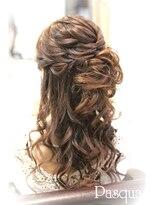 ヘアセットサロン パスクア(Hair Set Salon Pasqua)モテ ダウンスタイル
