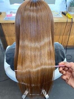 ライフビーネオ(Lifebe Neo)の写真/【#イマヘア美髪改善トリートメント】導入♪お客様のなりたい髪質や今の悩みに合わせて組み合わせる♪