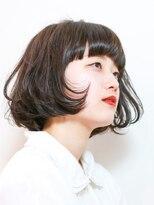 エトネ ヘアーサロン 仙台駅前(eTONe hair salon)【eTONe】ちょいモードなワンレンボブ