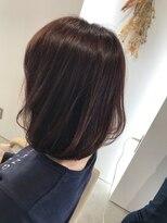 リアン ヘアー(Lien hair)柔らかさのあるストカールスタイル