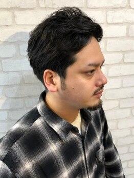 ヘアーサロン ライズネクステージ(hair salon RISE nextage)の写真/【メンズカット+頭皮ケア¥4400】程よい距離感で話しやすいと人気のRISEスタッフが短時間で理想のstyleに◎