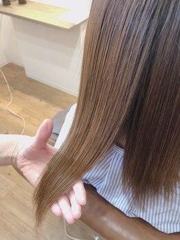 ヘアサロン マイレ(maile)の写真/水素&コラーゲンで整える髪質改善ストレート☆トリートメントで髪の歪み、ねじれ、ガタつきを解消☆