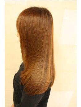 ナチュラル8 NATURAL8 ヘアースタジオ Hair studioの写真/輝髪縮毛+カット【¥10800】うねり・広がり...あなたの悩みを解消してくれる輝髪縮毛が大好評!
