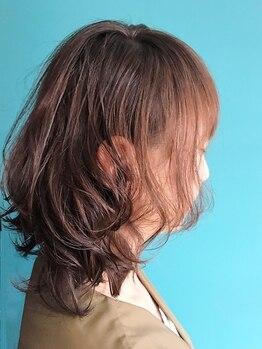 フゥーヘアー(Foo hair)の写真/【Foo hair】のエアウェーブはダメージレス施術でナチュラルなエアリー感が続く…★朝のセットも楽々に♪