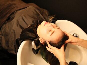 フロウクラウド(FLOW CLOUD)の写真/本格ヘッドスパ・濃密ヘアエステなら《FLOW CLOUD》にお任せ!頭皮ケア・美髪など、目的別にチョイス♪