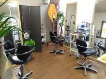 カットアンドカラーロータス 美容室の雰囲気(サロン全体)