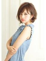 『rue京都』【杉本大夢】 30代・40代軽やかショート×小顔