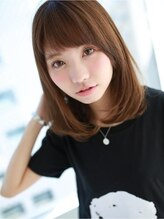 """アグ ヘアー バイオレット 久留米店(Agu hair violet)""""さらナチュ""""ワンカールヘア☆"""