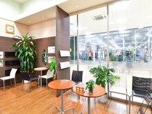 美容室 サピージュ(Sapige)の雰囲気(緑と木に包まれたキレイな店内です★買い物ついでに!)