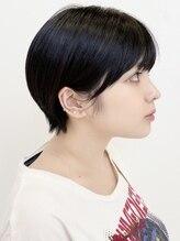 ジェムヘアスタジオ 湘南平塚南口店(Gem Hair Studio)Gem Hair Studio 姉崎 黒髪ショートでかっこかわいい