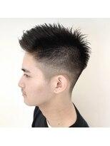 ネオヘアー 曳舟店(NEO Hair)かきあげアップバングショート(曳舟)