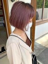 マイ ヘア デザイン(MY hair design)ピンクミルフィーユカラー