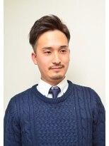 セブン(SEVEN)短髪ツーブロック束感ビジネスショートスタイル
