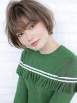 《Agu hair》小顔効果のトレンドミニボブ★