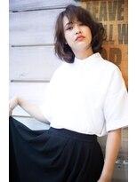 ヘアーメイクビロー タカマツ(Hair Make Billow Takamatsu)ルーズ外国人風レイヤーボブ