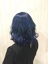 アールズ(R's)ダブルカラー+外国人風ブルー