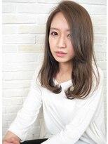 ヘアーブランド リンク 三宮店(HAIR BRAND Link)【Link】モノトーンアッシュ×ニュアンスセミディ