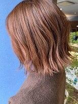 クブヘアー(kubu hair)《クブヘアー》春色オレンジカラー